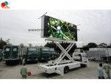 Produits neufs de la publicité extérieure d'idée mobiles/écran mobile flexible P16 d'Afficheur LED de remorque