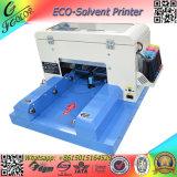 Принтер малой машины чернил Eco размера A4 растворяющей миниый планшетный для печатной машины USB пер случая телефона