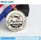 Jeux de sport Medallion Custom Swim Medal Souvenir Metal Badge