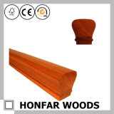 """2-5/8 de """" corrimão de madeira do estilo chinês X 1-5/8 """" para a decoração"""