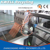 Granulador de plástico reciclado rígido / máquina de peletización