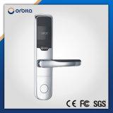 Blocage de porte d'hôtel de clé de carte d'IDENTIFICATION RF d'acier inoxydable d'Orbita E3091g