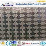 Prix Checkered m2 de plaque de cale de l'acier inoxydable 304