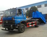 La basura Trcuk del brazo de gancho de leva de Dongfeng 4X2 10t 10 toneladas de brazo cae el carro