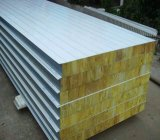 Высоки панель сандвича шерстей утеса цвета Quliaty стальная с ISO9001