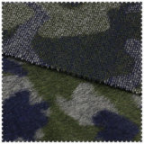 Ткань полиэфира и шерстей армии зеленая для шинели способа