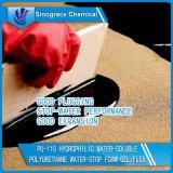 Ein hydrophiler wasserlöslicher Teilpolyurethan Wasser-Stoppt Schaumgummi-Gel/Flex (PU-110)