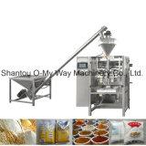 Los bocados verticales automáticos soplaron máquina del envasado de alimentos