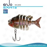 Multi-articulé Fishing Life-Like Lure Bass Bait Swimbait Shallow Hard Bait Fishing Lures (MS1806)