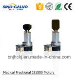 Ingevoerde Motor 1550nm het Vlekkenmiddel van de Rimpel van het Oog van de Laser voor de Verwijdering van het Aftasten van de Acne