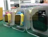 Q75 het Horloge van de Drijver van GPS/GSM voor Sos van de Kaart van het Horloge van Jonge geitjes de Slimme Drijver van het Merkteken van de Vinder van de Plaats van de Vraag voor de Gift van de Monitor van Kinderen Roze Pk Q60 Q50