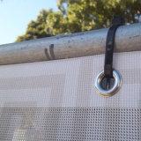 Förderung-Fahnen-Drucken-farbenreiche Ineinander greifen-Fahne mit Tüllen-Metallöse