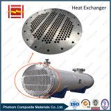 Feuille de tube bimétallique pour l'hexa d'échangeur de chaleur