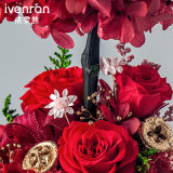 Flor natural del 100% Rose para la decoración de la Navidad