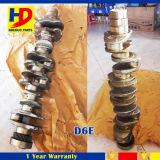 Diesel Engine Assy D6e Vilebrequin avec une bonne technologie de fabrication