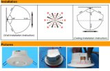 天井によって取付けられる受動の赤外線探知器PIRセンサー(HTW-L727)
