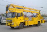 머리 위 작업 20 미터는 6 20 M 고도 운영 트럭을 선회한다