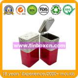 Rechteckiger Kaffee-Zinn-Kasten für das verpackende Nahrungsmittelzinn, Kaffee-Kästen
