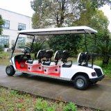 Gute Qualitätscer genehmigte 6 Seater elektrische Golf-Fahrzeuge