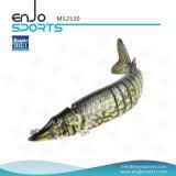 Palan de pêche dur réaliste de pêche joint multi choisi d'attrait de plongée profonde d'attrait de pêcheur (MS2530)