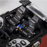 Shinho 4 모터 자동적인 접합 및 가열 광섬유  Fusion 접착구