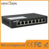 Interruptor de rede do acesso da porta de Ethernet de um Tx de 8 megabits