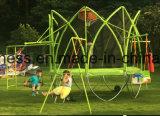 Ensclosureの2016最も新しい庭の屋外の円形のトランポリン
