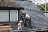 건축재료 ASA 플라스틱 PVC 기와 합성 수지 지붕 소리 증거 기와