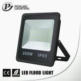 Dispositivos negros resistentes a la corrosión de la iluminación con focos de la alta eficacia ligera IP65 LED de SMD