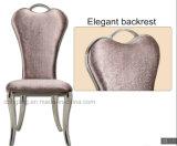 의자를 식사하고 PU 디자인을%s 가진 의자를 기다리는 고전적인 철 프레임