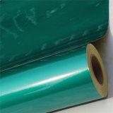 Зеленая акриловая отражательная пленка или покрывать