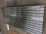 Gewölbtes Zink-Beschichtung-lange Überspannungs-Dach-Blatt