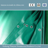 Materiales revestidos impermeables de la tienda del encerado del PVC