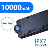 手段によって取付けられる防水GPSの追跡者10000mAh Tk10gse 3G GSM+GPS+WiFi