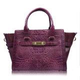 Bolso de mano del hombro de la manera de señora Designer Handbag Genuine Crocodile