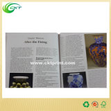 Impresión del libro de papel de arte con a todo color (CKT-BK-552)