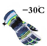 Windproof водоустойчивые перчатки перчатки лыжи снежка для человека и женщины