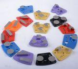 Pattini stridenti del pavimento di calcestruzzo/piatti di lucidatura A07 del pavimento