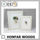 فن اللّصق 3 أطر بيضاء خشبيّة طفلة صورة إطار