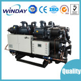 Doble compresor refrigerado por agua tornillo Chiller máquina de refrigeración