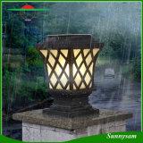 PRO jardin de modèle d'installation de contrôle léger de grille de lampe solaire solaire imperméable à l'eau facile artistique de lumière