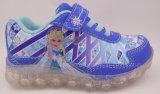 La lumière gelée folâtre la chaussure pour des filles