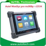 PRO strumento diagnostico automatico originale J2534 Ms908p ECU della l$signora 908p di Autel Maxisys che programma Autel Maxisys 908p