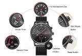 ステンレス鋼の防水リスト・ストラップの方法スポーツの水晶人の腕時計72188