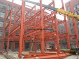 Gruppo di lavoro di alto livello, magazzino e pianta d'acciaio della costruzione dell'acciaio