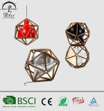 Lampe pendante de projet de type en bois moderne de Decoative Italie