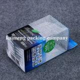 Projeto Foldable plástico personalizado da caixa de jóia do PVC do espaço livre do pacote (caixa de jóia)