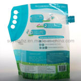 Liquido levar in piedi in su il sacchetto di plastica con il becco per pulizia/prodotto di lavaggio
