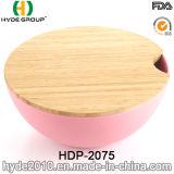 Ciotola di insalata di bambù organica della fibra di nuovo disegno (HDP-2075)
