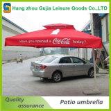 Parapluie latéral rond de poste de vente de parasol de jardin chaud de parasol